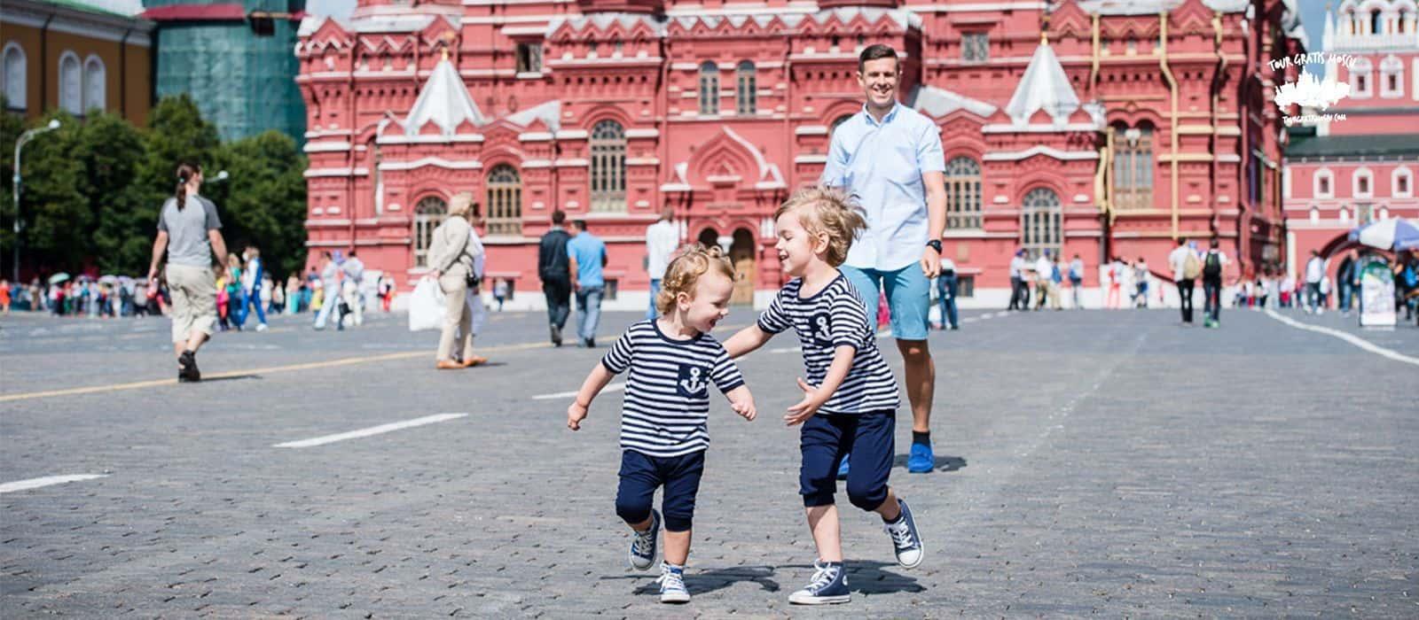 Walking city en Moscú (Caminando la ciudad)