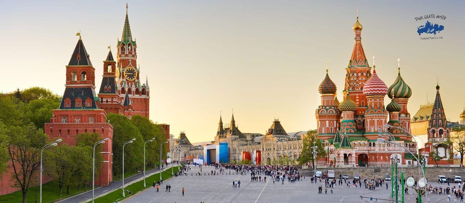 Tour gratis por el centro de Moscú en español