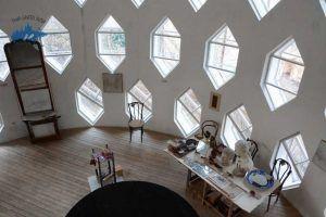 Excursionar en la Casa del Arquitecto Melnikov; Visitar la Casa del Arquitecto Melnikov en Moscú; Que ver en la Casa del Arquitecto Melnikov en Moscú