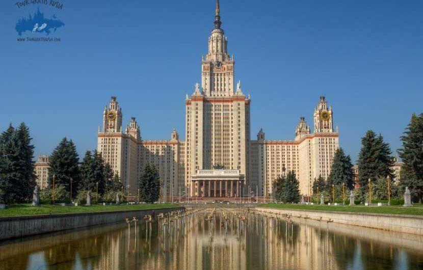 Recorrer la Universidad Estatal de Moscú; Visitar la Universidad Estatal de Moscú; Que ver en la Universidad Estatal de Moscú