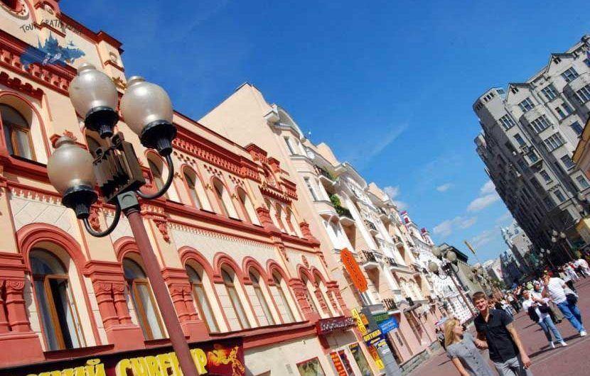 Recorrer por la calleArbat en Moscú; Visitar la calleArbat en Moscú; Que ver en la calleArbat en Moscú