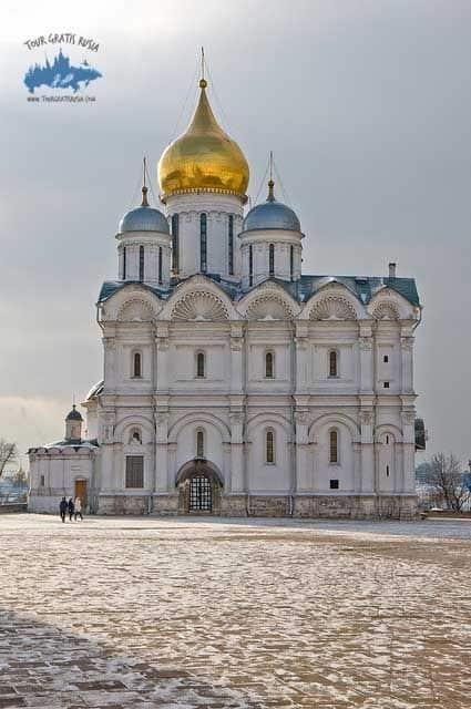 """La Catedral del Arcángel; Iván IV """"El Terrible""""; Kremlin de Moscú"""