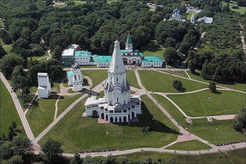 El Parque Kolomenskoye en Moscú