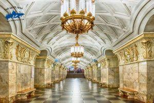 Que estaciones visitar en Moscú; Como usar la Tarjeta Troika en el metro de Moscú; Visitar el Metro de Moscú