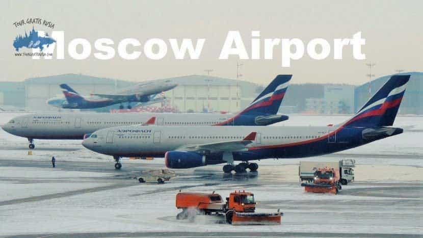 Ir hacia Moscú en avión; Viajar hacia Moscú en avión; Aeropuertos de Moscú