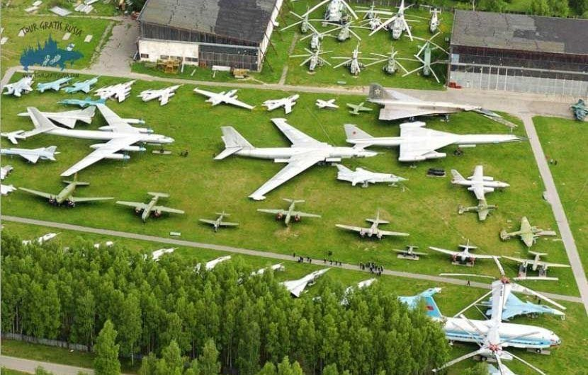 Recorrer el museo central de la Fuerza Aérea Rusa; Visitar el museo Monino en Rusia; Que ver en el museo Monino en Rusia