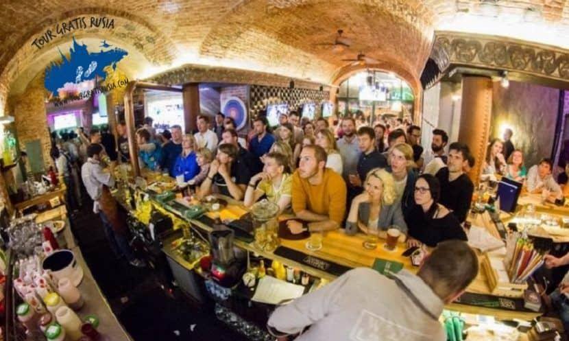 Bares que visitar en Moscú; Que Bares de Moscú ir; Bares de Moscú para visitar