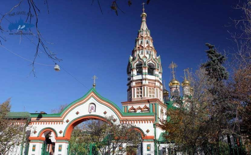 Recorrer la Iglesia de Santo Nikolas en Moscú; Conocer la Iglesia de Santo Nikolas en Moscú; Visitar la Iglesia de Santo Nikolas en Moscú
