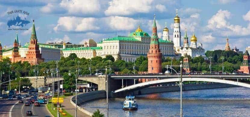 Que ver en el río Moscova en Moscú; Navegar por el Río Moscova en Moscú; Pasear en barco por el río Moscova en Moscú