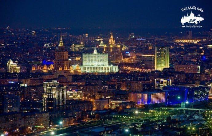 ¿Qué ver de noche en Moscú?