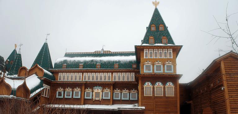 Recorrer el palacio de Alexey Mihailovich en Moscú; Excursionar en el palacio de Alexey Mihailovich Moscú