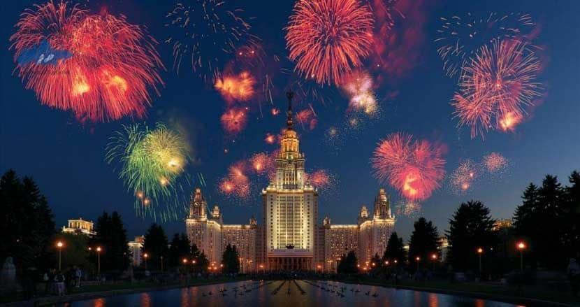 El día de Moscú de 2015