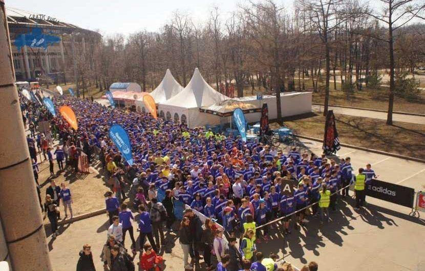 El maratón en Moscú 2015