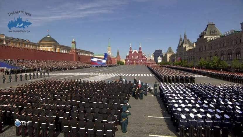 Que saber sobre el Día de la Victoria en Moscú; Dónde ver los ensayos del desfile en Moscú; Sobre el desfile del 09 de mayo en Moscú
