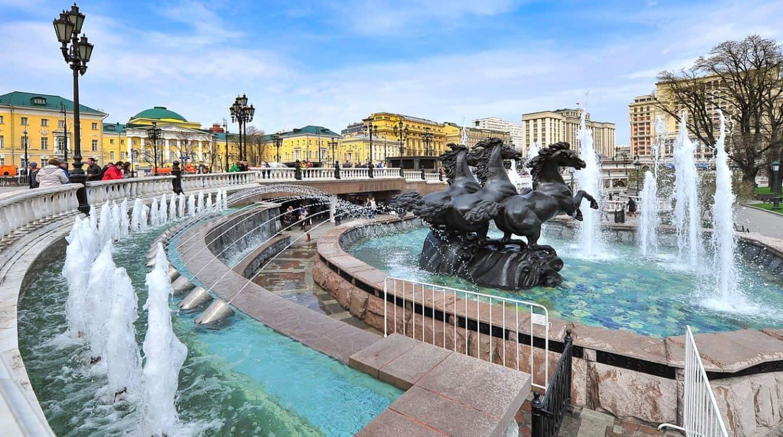 Las fuentes en Moscú
