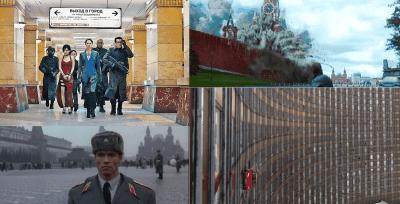 Películas grabadas en Moscú; Películas hechas en Moscú; Películas rodadas en Moscú