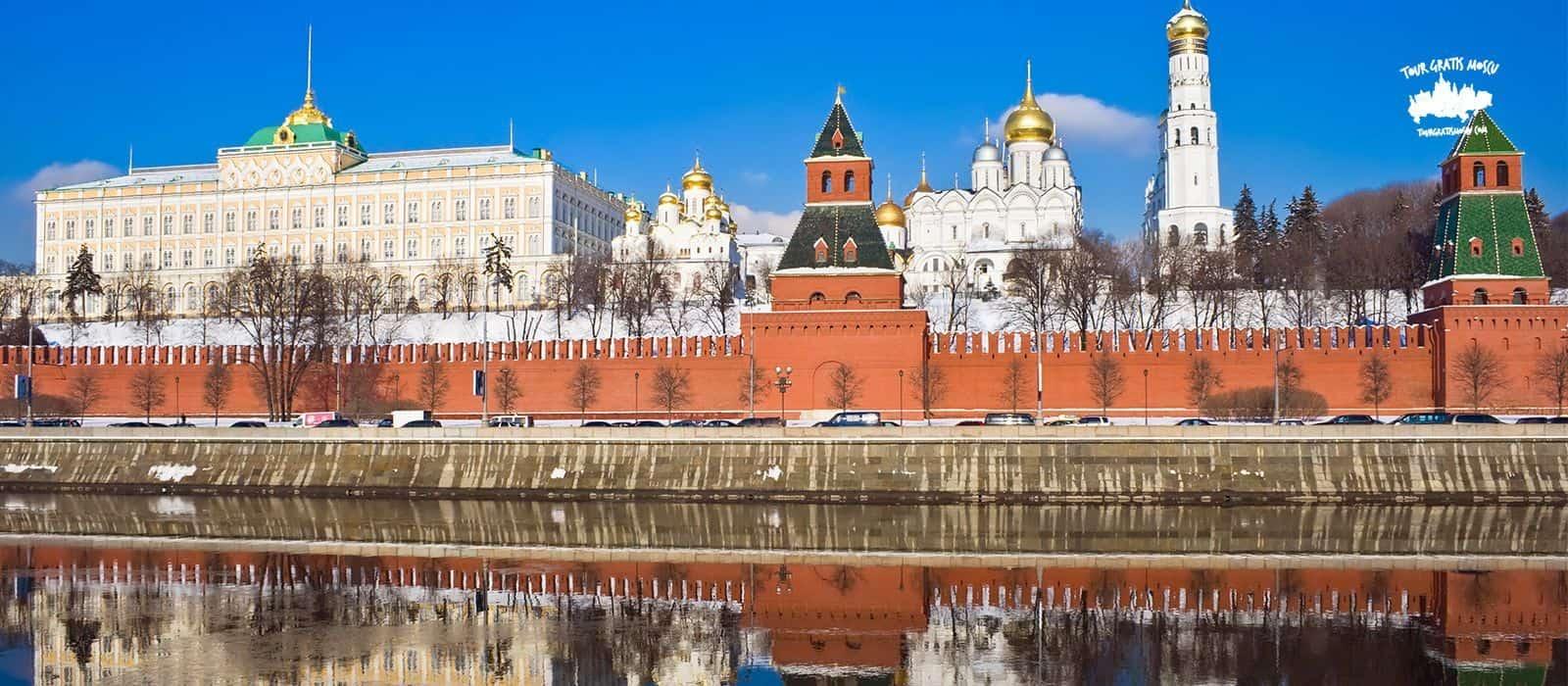 Tour Kremlin de Moscú.