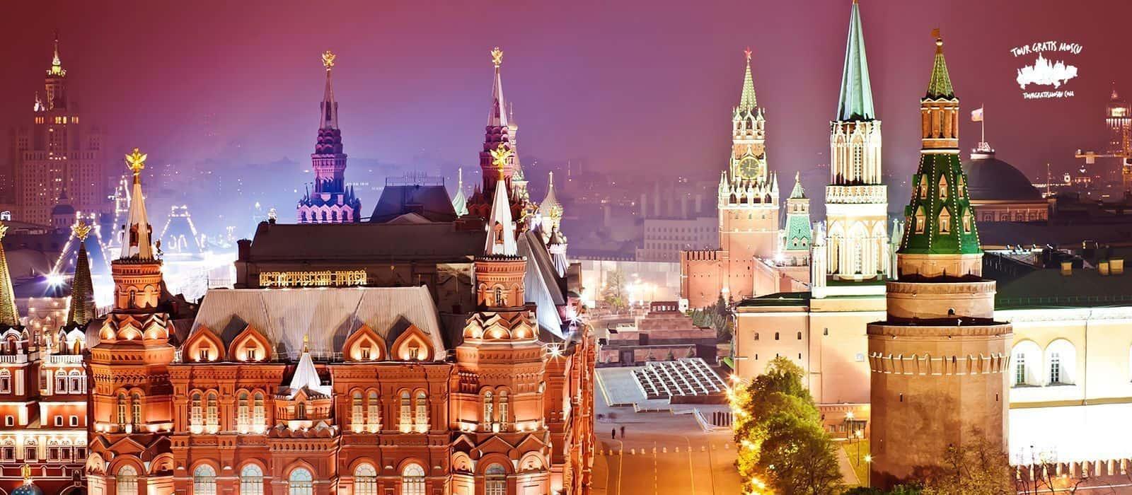 Visita Moscú en 4 días